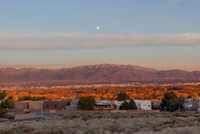 Albuquerque And The Sandia Mountains