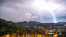 Lightning Thunder Storm And Da...