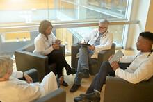 Medical People Sitting In Meet...