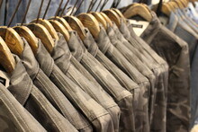 Cloth Store In The Hongdae Street South Korea