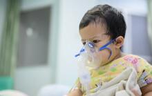 Asian Baby Was Sick As Respira...