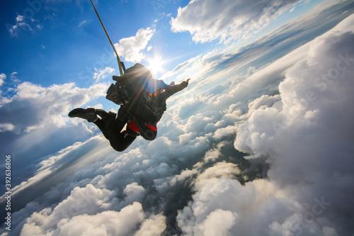 Tablou Canvas Lancio con il paracadute