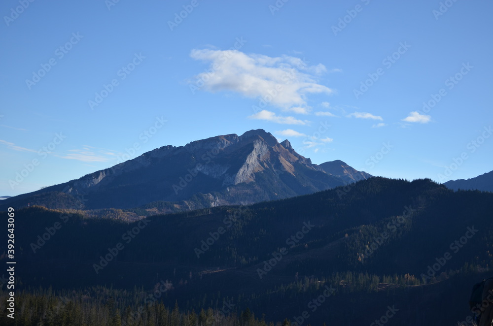 Fototapeta snow covered mountains