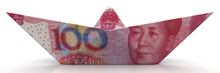 Paper Boat From Chinese Bankno...