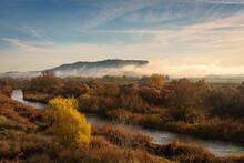 Beautiful Landscape Of The Riv...