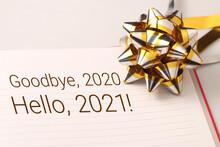 Goodbye 2020 With Beautiful Decoration.
