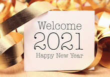 Welcome New Year 2021 With Dec...