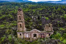 Church In The Mountains Of Michoacan.