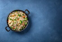 Vegan Rice With Vegetables In ...