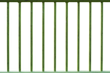Old Steel Fence Grill With Cra...