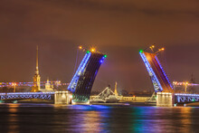 Neva River And Open Palace (Dv...