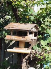 野鳥の為の手作り巣箱