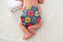 A Photo Of A Baby's Cloth Diap...
