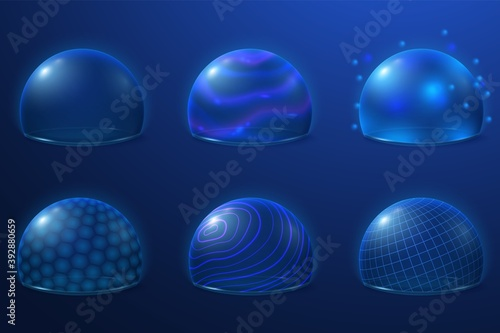 Fotografia Bubble shields