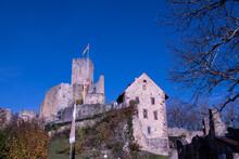 Rötteln Castle (German: Burg Rötteln), Located Above The Lörrach Suburb Of Haagen, Lies In The Extreme Southwest Corner Of The German State Of Baden-Württemberg
