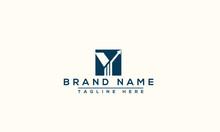 Y Logo Design Template Vector Graphic Branding Element.