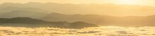 Panorama Photo Of Sunrise Time...