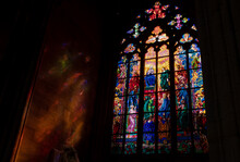 Stained Glass Window In Prague...