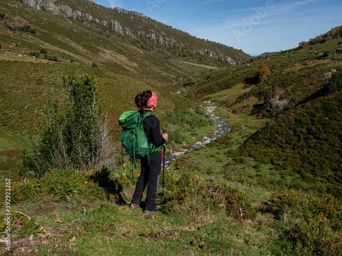 Photo el Hiton, barranco del Diablo, parque natural del Saja-Besaya, Cantabria, Spain