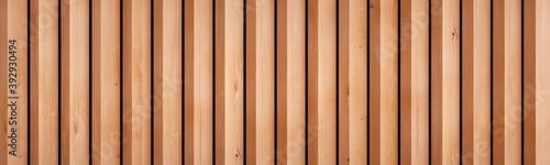 Obraz Large wallpaper of natural solid wood slats. Vertical version. - fototapety do salonu