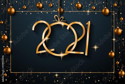 2021 Happy New Year Background #392933846