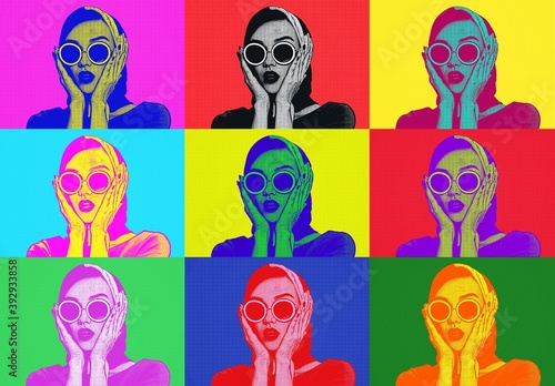 60s Pop Art Photo Effect