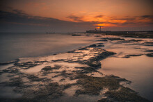 SUNSET IN THE BAY OF CADIZ