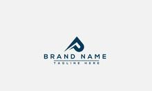 P Logo Design Template Vector Graphic Branding Element.