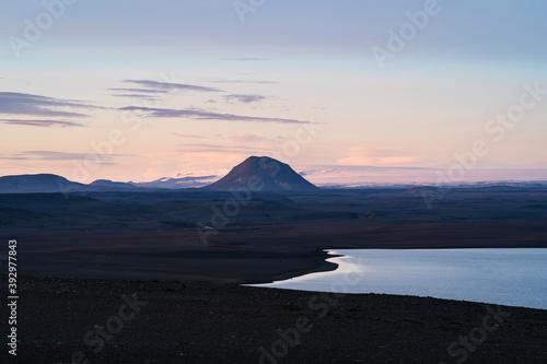 Hágönglón Lake In Remote Icelandic Highlands
