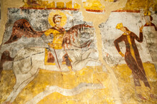 Fresco Inside The Chapel Of St...