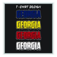 Georgia Vintage T-shirt Design