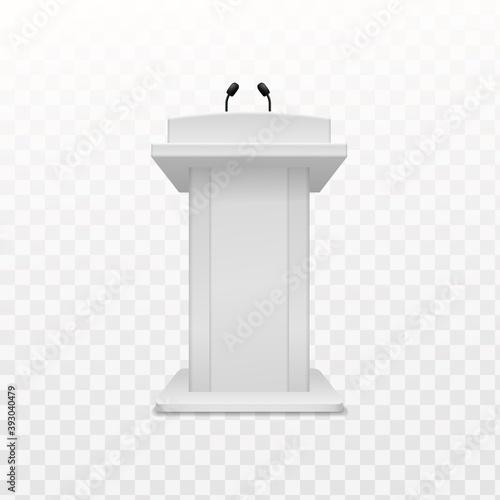 Fototapeta Debate speaker podium