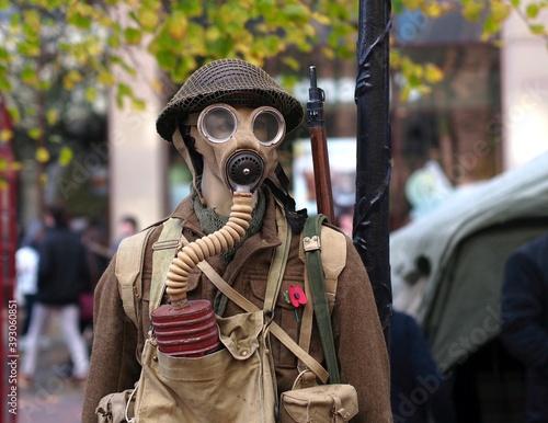 Tela Dummy soldier in First World War uniform