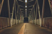 A Steel Bridge For Pedestrians...
