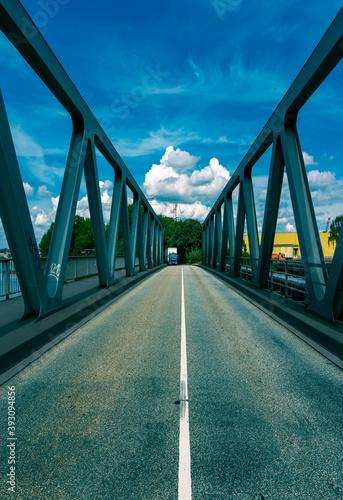 Fototapeta premium Köhlbrandbrücke Hamburg