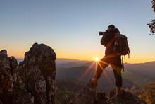 Silhouette Nature Photographer...