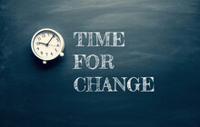 Time For Change And Motivation...