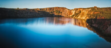 Panoramic Lake Surrounded By A...