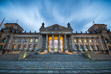 Exterior View Of Reichstag Bui...