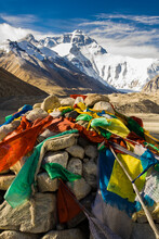 Scenic View Of Mount Everest W...