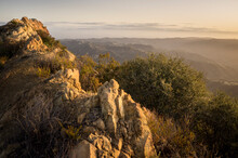 View Of Mountains In Santa Monica Mountains National Recreation Area