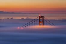 Scenic View Of Golden Gate Bri...