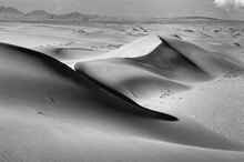 View Of Sand Dunes In Namib Desert