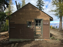 Rustic Cabin Exterior In The M...