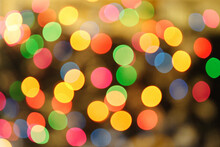 Colorlfull Lights Background - Blured