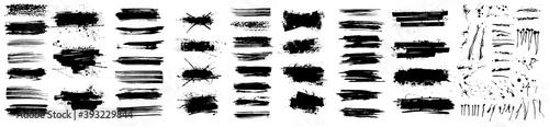 Fotografia Beautiful Paintbrush vector collection