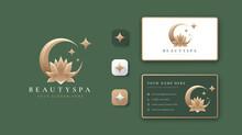 Eclipse Lotus Flower Logo