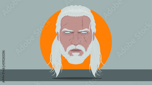Photo Geralt from Rivia