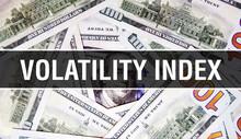 Volatility Index Text Concept ...