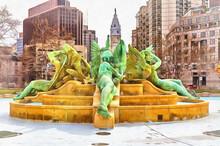 Swann Memorial Fountain, Fount...